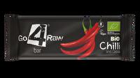 Die Raw Riegel Chili & Kakao von go4raw verbinden herzhaften Kakao mit dem Feuer der Chili. Diesen Rohkostriegel müsst ihr einfach probiert haben!