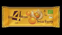 Der Raw Riegel Inkabeeren von go4raw ist etwas für Liebhaber leicht säuerlichen Obstes. Die im Rohkostriegel enthaltenen Inka-Beeren harmonieren ausgezeichnet mit den Datteln!