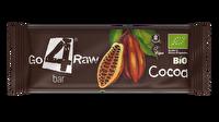 Der Raw Riegel Kakao von go4raw enthält das Beste aus der Kakaobohne aus dem kontrolliert biologischem Anbau. Wer auf die Schnelle Energie braucht und Kakao liebt, kann hier bedenkenlos zugreifen!