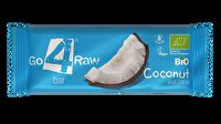 Kokosnuss und Kakao bestimmen den Raw Riegel Kokosnuss & Kakao von go4raw, spenden Energie und ergeben zusammen einen unglaublich exotisch-fruchtigen Mix!