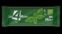 Der Raw Riegel Minze & Kakao von go4raw bietet in der Vermischung von Kakao und frischer Minze ein ausgesprochen frisches Geschmackserlebnis, das natürlich noch ungemein gesund ist!