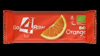 Der Raw Riegel Orange & Kakao von go4raw vereint fruchtige Orange mit herzhaftem Kakao in einem Rohkostriegel der Extraklasse. unbedingt einmal probieren!