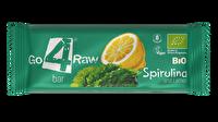 Der Raw Riegel Spirulina & Zitrone von go4raw strotzt nur so vor gesunden Bakterien mit Zitrone! Wer Spirulina, wird diesen Rohkostriegel lieben!