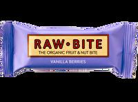 Die köstlichen Raw Bite Riegel mit Vanille und Beeren kommen von der gleichnamigen Firma aus Dänemark. kokku bietet es dir richtig günstig zum Kauf an!