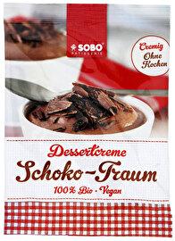 Die vegane Schoko-Traum-Dessertcreme von Sobo verführt zum Schlemmen nach Herzenslust. Jetzt günstig bei kokku, deinem veganen Onlineshop, kaufen!