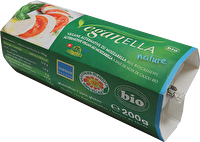 Veganella Natur ist der vegane Mozzarella von Soyana in der klassischen Geschmacksrichtung. Den guten Mozzarella aus Cashewkernen könnt ihr jetzt bei kokku kaufen