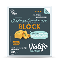 Mit dem Block Cheddar von Violife kommt jetzt ein herzhafter und mit guten Schmelzeigenschaften versehener veganer Kääse daher, der sowohl auf frischem Brot als auch überbacken auf Toast und Pizza eine richtig gute Figur macht!