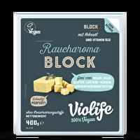 Der Block Rauch von Violife ist ein veganer geräucherter Schmelzblock, der dir alle Freiheiten der Zubereitung lässt! Ideal auch zum Überbacken geeignet! Jetzt günstig im veganen Onlineshop bei kokku kaufen!