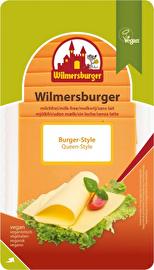Die guten, veganen Cheddar-Scheiben von Wilmersburger - eine überzeugende Alternative! Jetzt günstig bei kokku, deinem veganen Onlineshop, kaufen!