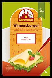 Die Wilmersburger Chili Scheiben kann man hervorrangend zu Brot, aber auch als Würfel zu Obst genießen. Jetzt im veganen Onlineshop von kokku!