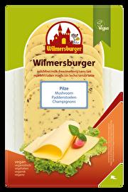 Die Wilmersburger Scheiben Pilze eignet sich für alle, die Champignons und Schmelzscheiben lieben. Vegan und günstig bei kokku kaufen!