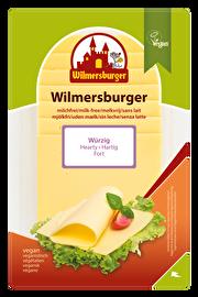 Die Wilmersburger Scheiben Würzig sind perfekt fürs Brot und Brötchen und überzeugen auch optisch. Vegan und günstig bei kokku kaufen!