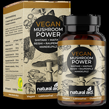 natural aid - Vegan Mushroom Power