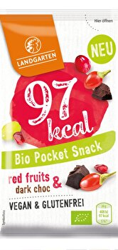 Landgarten - Pocket Snack Red Fruits & Dark Choc