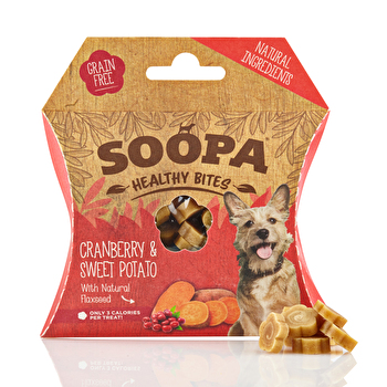 Soopa - Hundedrops Healthy Bites Cranberry & Sweet Potato