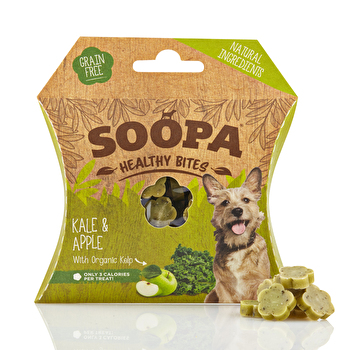 Soopa - Hundedrops Healthy Bites Kale and Apple