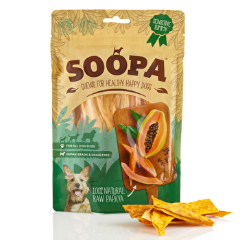 Soopa - Kaustreifen Papaya Chews