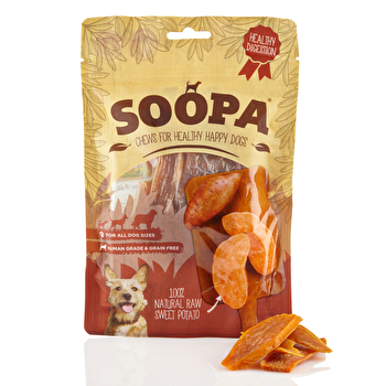 Soopa - Kaustreifen Sweet Potato Chews