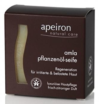 Amla Pflanzenölseife 3in1 von apeiron günstig bei Kokku im Veganshop kaufen!