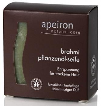 Brahmi Pflanzenölseife 3in1 von apeiron günstig bei Kokku im Veganshop kaufen!