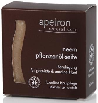 Neem Pflanzenölseife 3in1 von apeiron günstig bei Kokku im Veganshop kaufen!