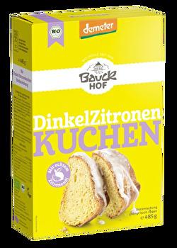 Dinkel Zitronenkuchen Backmischung von Bauckhof günstig bei Kokku im Veganshop kaufen!