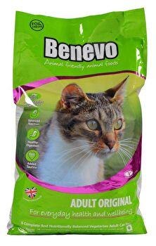 Adult Original veganes Katzen Trockenfutter von Benevo preiswert bei kokku im veganen Onlineshop kaufen!