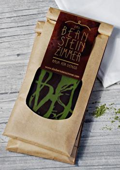 Dunkle Schokolade °Minze Matcha° von Bernsteinzimmer günstig bei Kokku im Veganshop kaufen!
