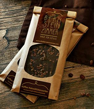 Edelbitter Schokolade °Kaffee Kokosblütenzucker° von Bernsteinzimmer günstig bei Kokku im Veganshop kaufen!