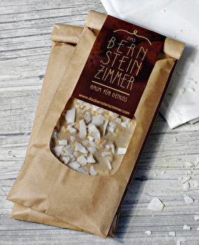 Weiße Schokolade °Ananas Kokos° von Bernsteinzimmer günstig bei Kokku im Veganshop kaufen!