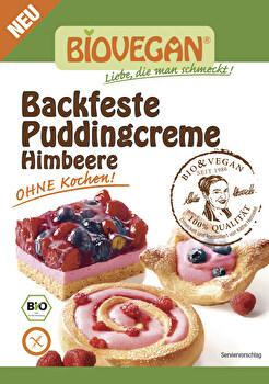 Backfeste Puddingcreme °Himbeere° - Ohne Kochen! günstig bei Kokku im Veganshop kaufen!