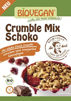 Streusel Crumble Mix Schoko von Biovegan günstig bei Kokku im Veganshop kaufen!