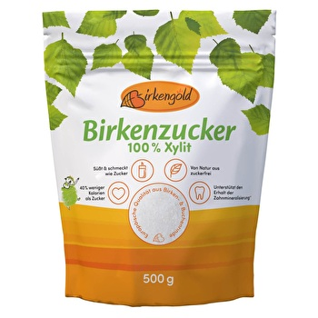 BIRKENGOLD Xylit Beutel von Birkengold günstig bei Kokku im Veganshop kaufen!