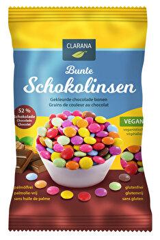 Bunte Schokolinsen von Clarana jetzt bei kokku-online.de günstig kaufen.