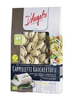 Vegane Pasta Cappelleti mit Räuchertofu von D\\\'Angelo Pasta preiswert bei kokku im veganen Onlineshop kaufen!