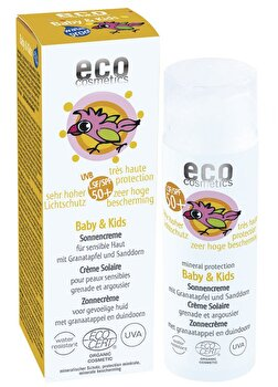 Baby & Kids Sonnencreme LSF 50+ von Eco Cosmetics günstig bei Kokku im Veganshop kaufen!