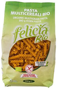 Fusilli 4-Korn von felicia Bio günstig bei Kokku im Veganshop kaufen!