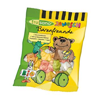 Janosch Bärenfreunde - Fructosefreie Gummibären von frusano günstig bei Kokku im Veganshop kaufen!