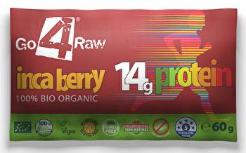 Protein Riegel Inka Beeren von go4raw günstig bei Kokku im Veganshop kaufen!