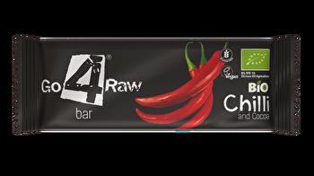 Raw Riegel Chili & Kakao von go4raw günstig bei Kokku im Veganshop kaufen!