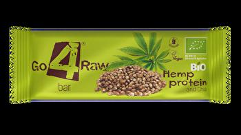 Raw Riegel Hanfprotein & Chia von go4raw günstig bei Kokku im Veganshop kaufen!