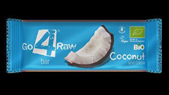 Raw Riegel Kokosnuss & Kakao von go4raw günstig bei Kokku im Veganshop kaufen!