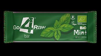 Raw Riegel Minze & Kakao von go4raw günstig bei Kokku im Veganshop kaufen!
