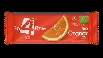 Raw Riegel Orange & Kakao von go4raw günstig bei Kokku im Veganshop kaufen!
