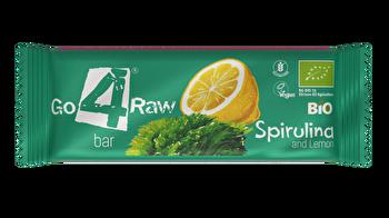 Raw Riegel Spirulina & Zitrone von go4raw günstig bei Kokku im Veganshop kaufen!