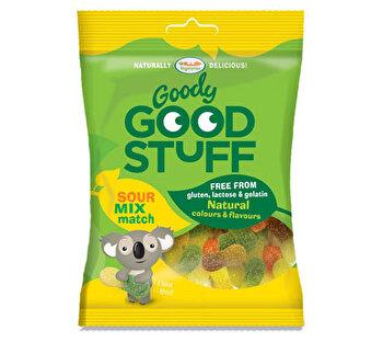 Vegane Gummibären Sour Mix & Match von Goody Good Stuff bei kokku im veganen Onlineshop kaufen!