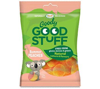Vegane Gummibären Summer Peaches von Goody Good Stuff bei kokku im veganen Onlineshop kaufen!