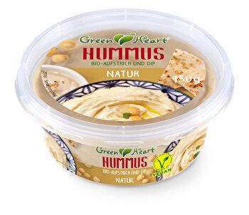 Bio Hummus Natur - Kichererbsenpüree, herzhafter Aufstrich bei kokku kaufen!