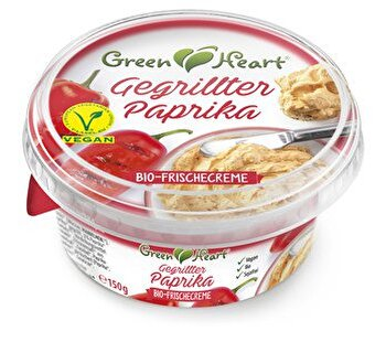Die Frischecreme °Gegrillte Paprika° von Green Heart jetzt bei kokku bestellen!