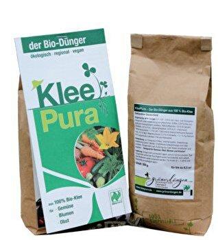 Den Bio-Dünger KleePura 750g aus 100% Bio-Klee jetzt bei kokku günstig kaufen!